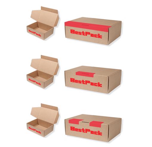 封箱機紙箱 - 紙箱成形示意圖 -3