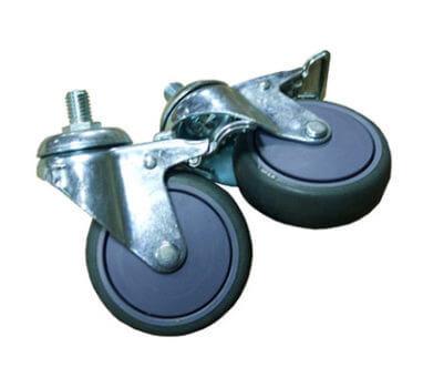 封箱機-活動剎車輪
