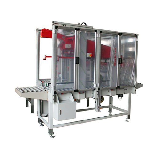 ASR - Automatic Side And Top Drive Flap Folder And Carton Sealer