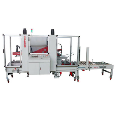 Fully Automatic Fruit Box Carton Sealer CTFXU